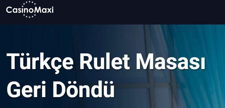 casino maxi-rulet